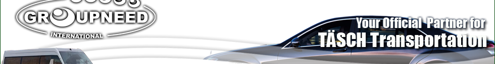 Airport transfer to Tasch from Zurich with Limousine / Minibus / Helicopter / Limousine